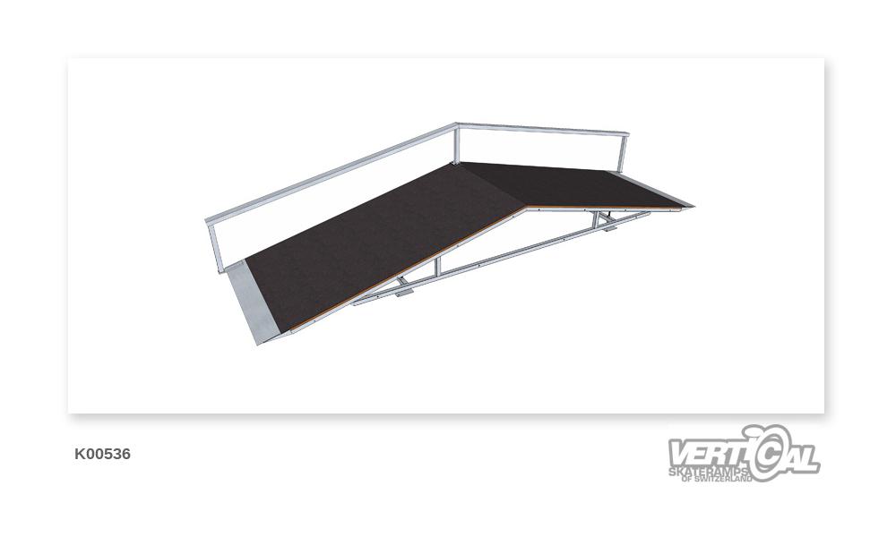 Roof Box 600 1.32m + Rail F