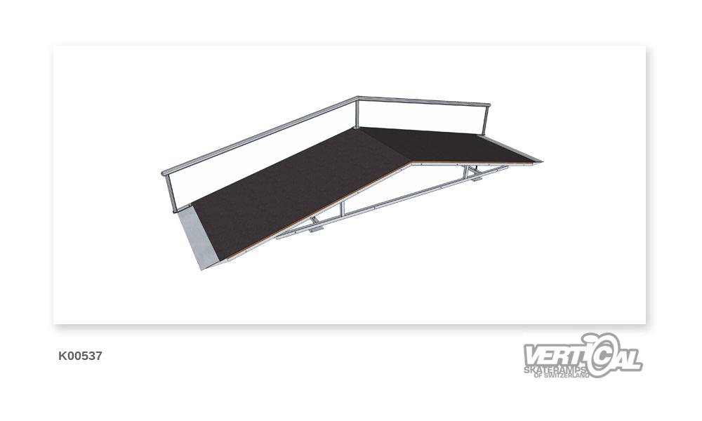 Roof Box 600 1.32m + Rail R