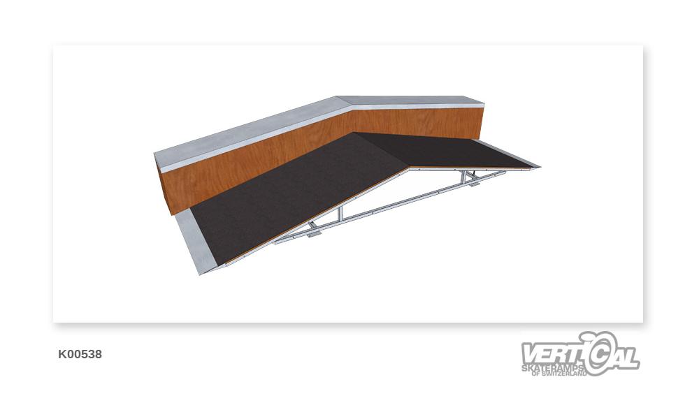 Roof Box 600 1.32m + Ledge