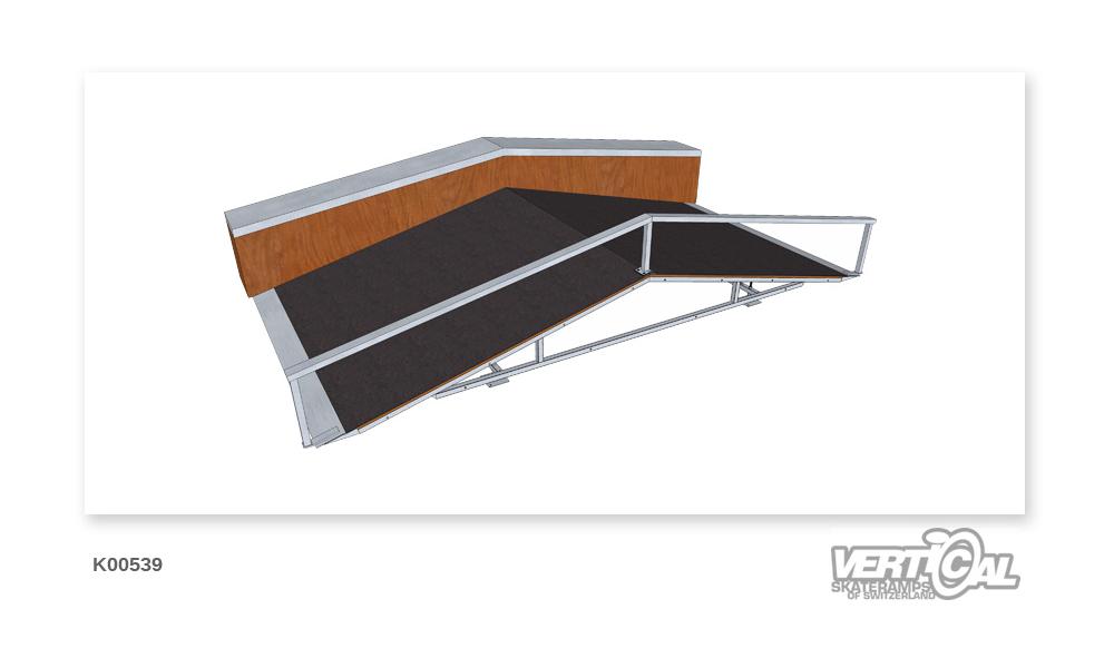 Roof Box 600 2.4m + Ledge...