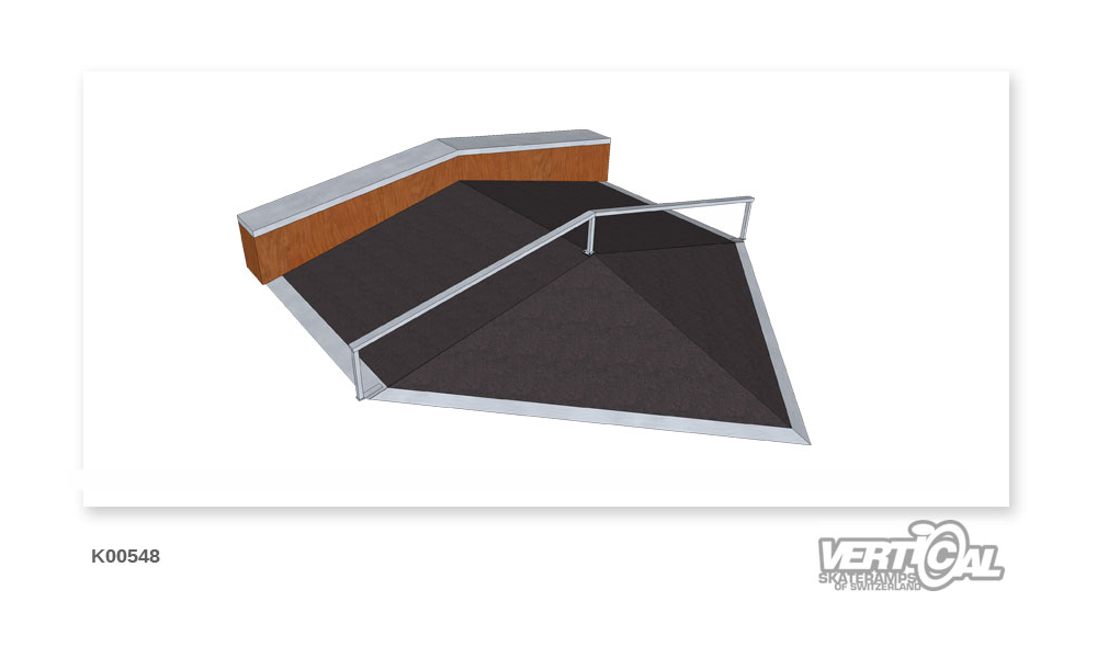 Roof Box 600 2.4m Pyramid +...