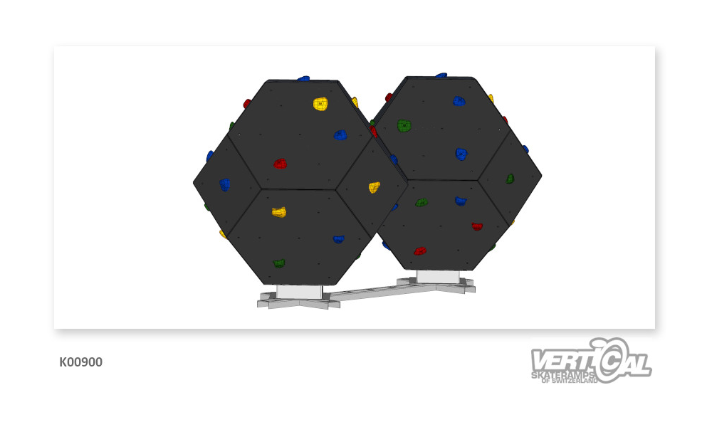 Double Climbing Cube with...