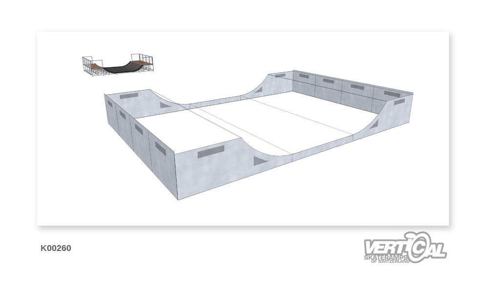 Enclosure for Miniramp 1000 6m