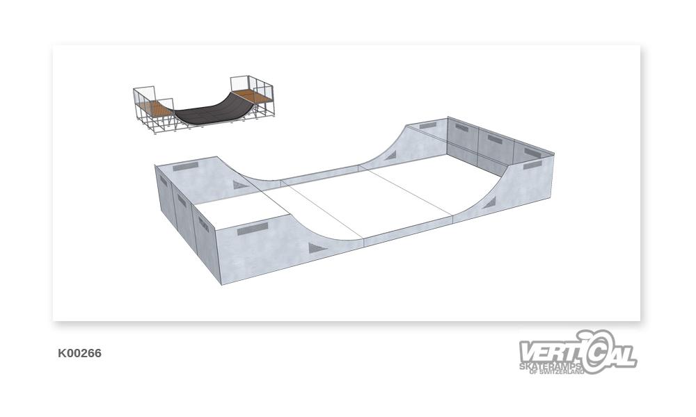 Enclosure for Miniramp 1100...