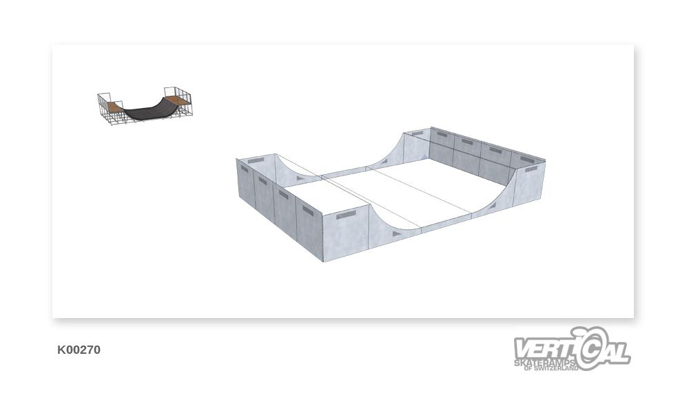 Enclosure for Miniramp 1400 6m