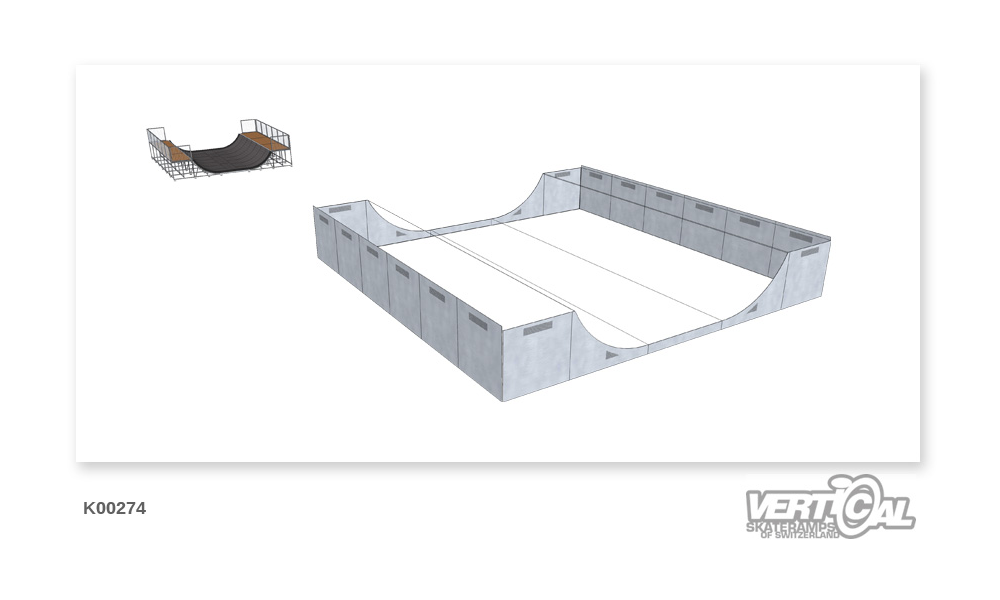 Enclosure for Miniramp 1400 9m
