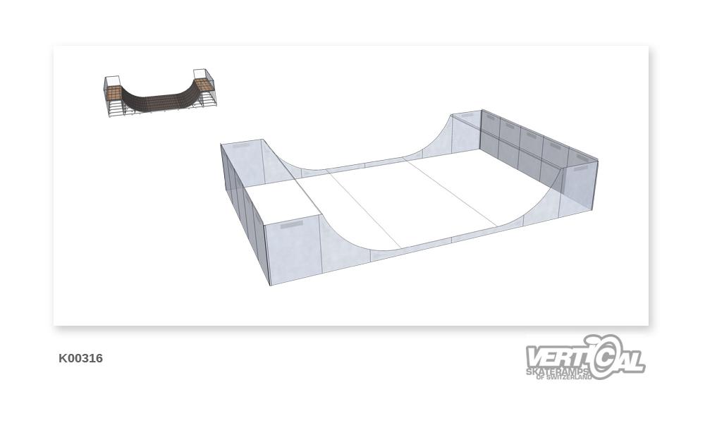Enclosure for Miniramp 1900...