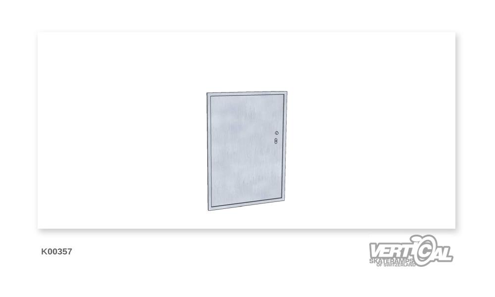 Service door 1.30 m