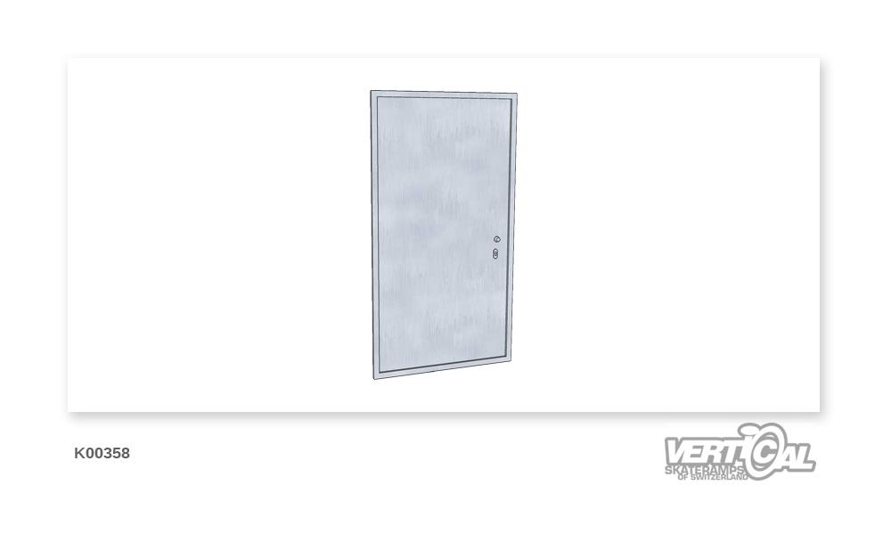 Service door 1.80 m