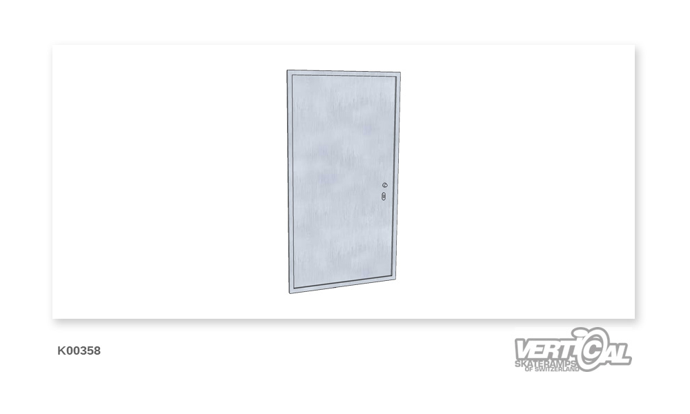 Service door for height 1.9m