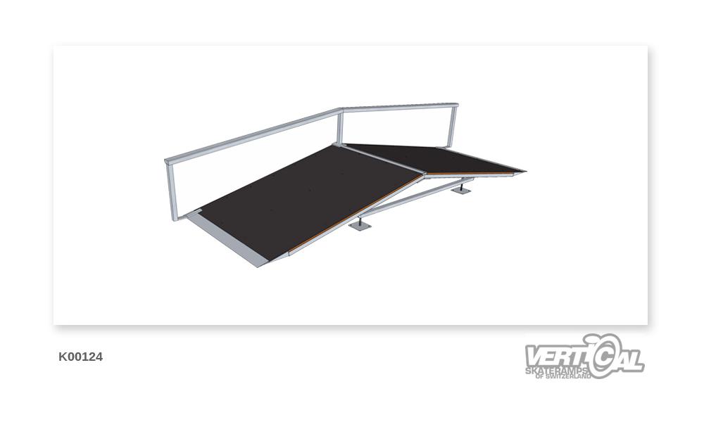 Roof Box 400 1.32m + Rail F