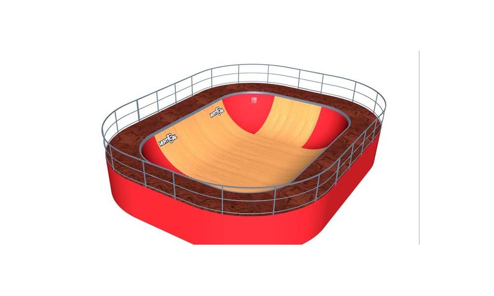 Minirampe MSR Bowl 3.0 m