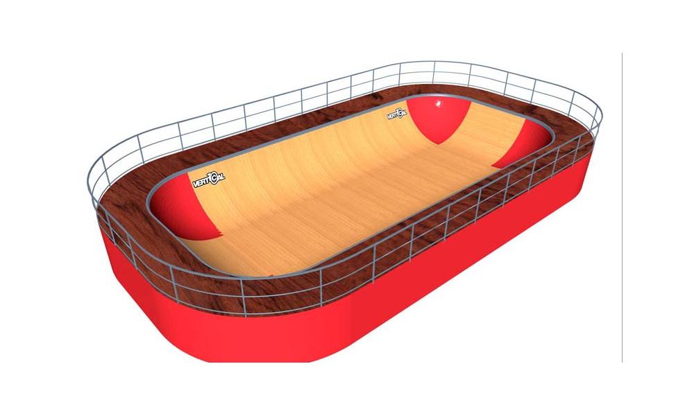 Minirampe MSR Bowl 10.5 m