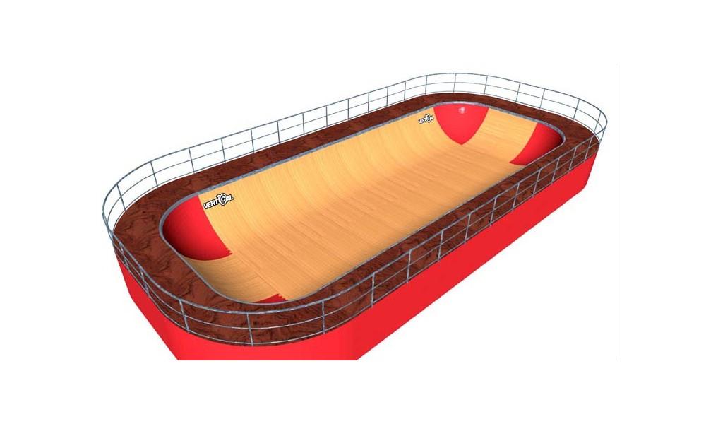 Minirampe MSR Bowl 19.5 m