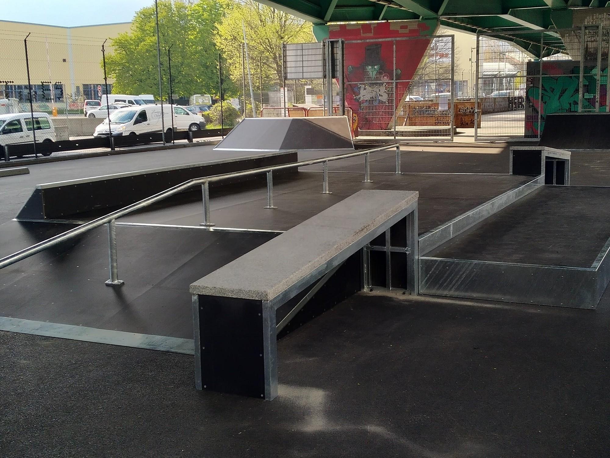 Lancy - Skatepark de La Praille
